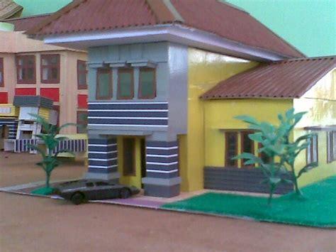 Maket Rumah maket projeck maket rumah mini malis