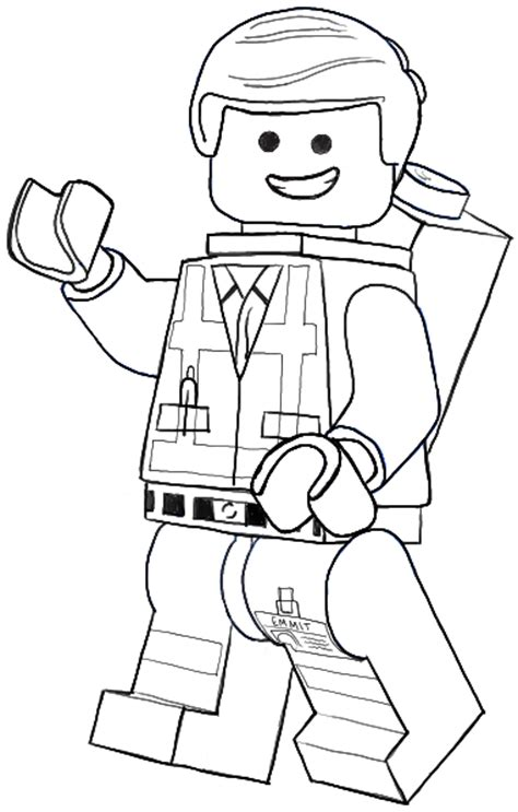 lego figure tutorial how to draw emmet from the lego movie and lego minifigures
