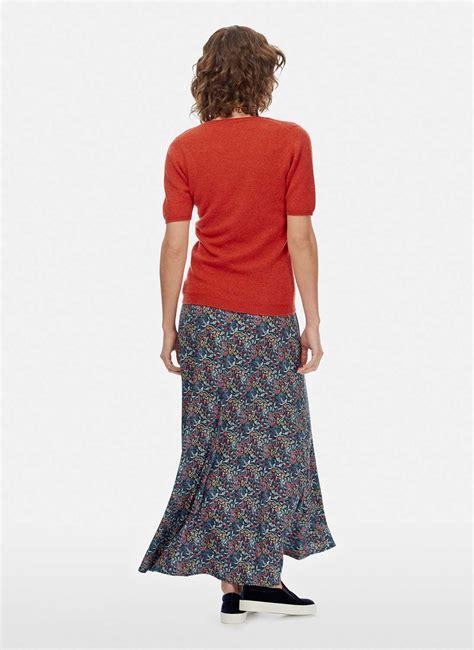 liberty print maxi skirt womens skirts brora