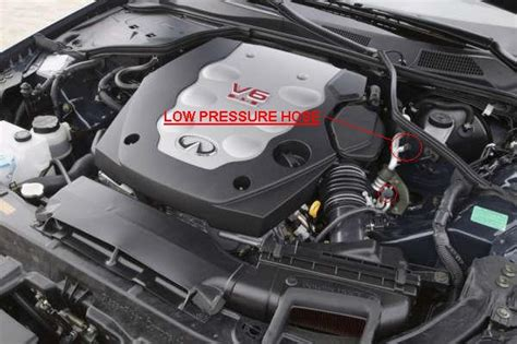 how to put refrigerant in a 2007 infiniti qx56 refilling the a c freon on a g35 coupe g35driver infiniti g35 g37 forum discussion