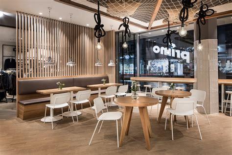 klein cafe interieur primo cafe bar by dia dittel architekten archiscene