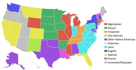 all fifty states here s what all 50 state names actually mean business