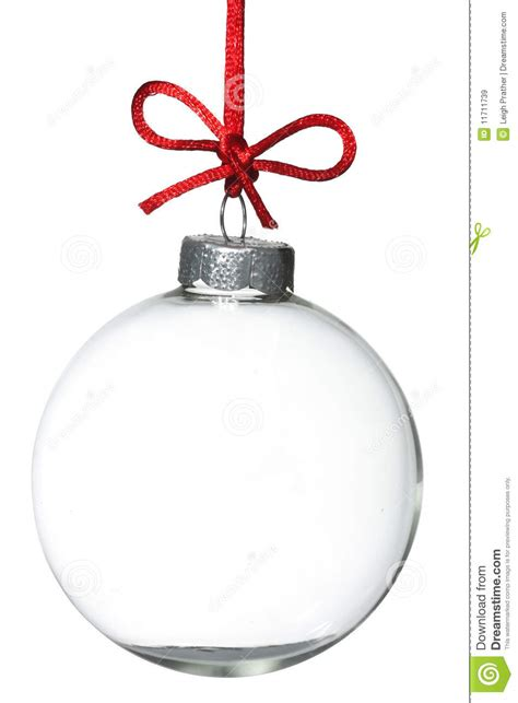 empty christmas ornament royalty free stock images image