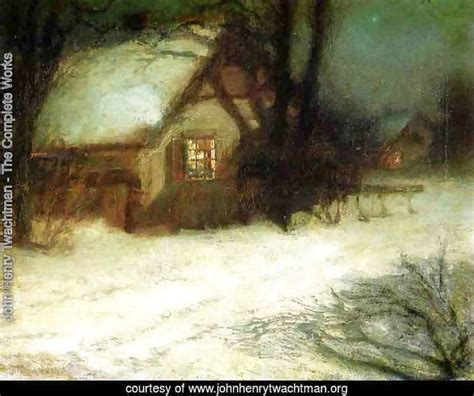 john henry twachtman the complete works the christmas