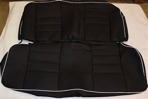 vw bug seat covers vw beetle sedan seat covers 1955 1976 incl rear covers