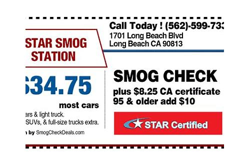 smog check coupons in riverside ca