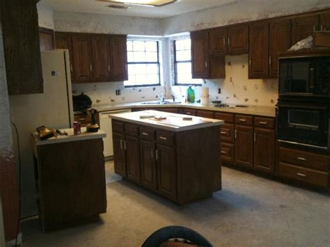 kitchen cabinets arlington tx kitchen remodel in arlington quot car crashed into dining room quot