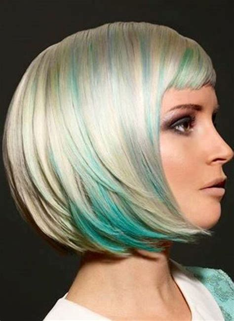 awesome bob haircuts cool short hair colors short hairstyles 2017 2018