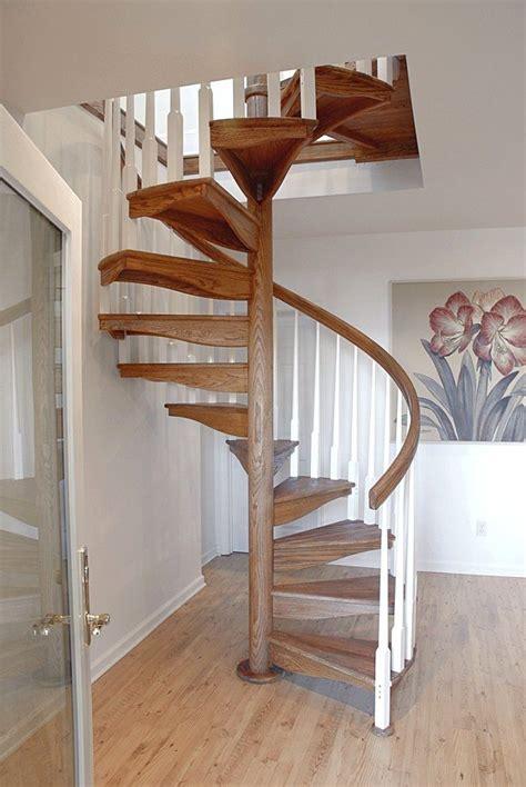 spiral staircase wooden steps open indoor w 1l salter beach pinterest wooden
