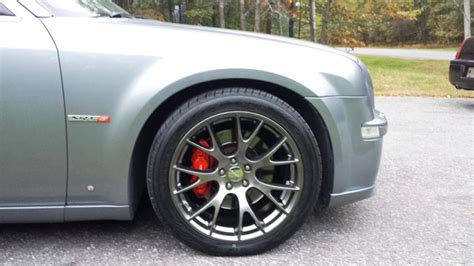 chrysler 300 hellcat wheels hellcat replica wheels installed chrysler 300c forum