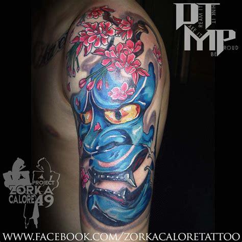 blue hannya mask tattoo pin blue hannya mask meaning on pinterest