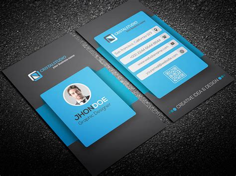 smartphone business card template smartphone style business card graphicriver