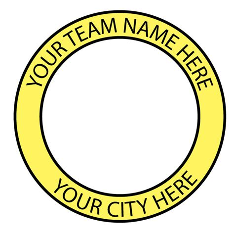 team badge vector template download at vectorportal