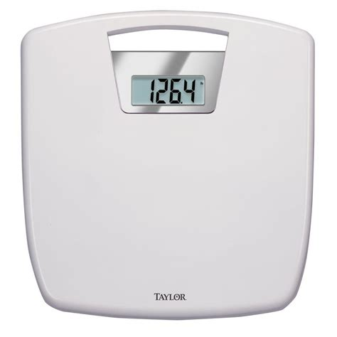 taylor digital bathroom scale taylor digital bath scale with anti microbial 70484102
