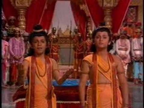 images of love kush luv kush ramayan part 2 youtube