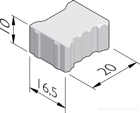 h profiel tegels waterpasserende h profiel stenen 20x16 5 h2o stenen