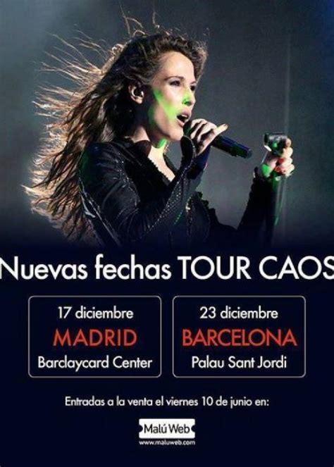 entradas concierto de malu concierto de mal 250 en barcelona comprar entradas