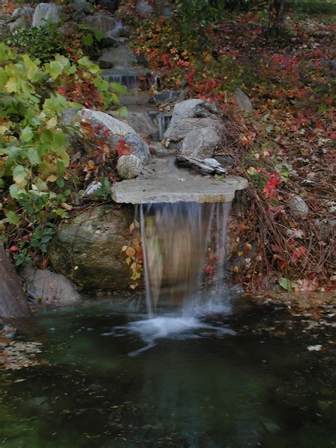 Backyard Pond With Waterfall by Backyard Waterfall Water Pumps