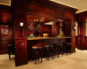 home bars room decor:  room with century irish pub bar and theater classic pinterest