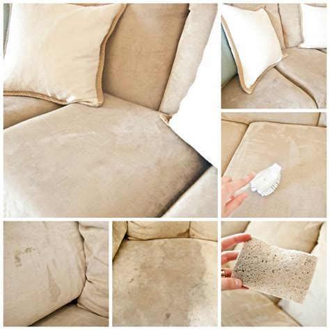 clean microfiber suede couch known valley for the love of home diy tutorial how to