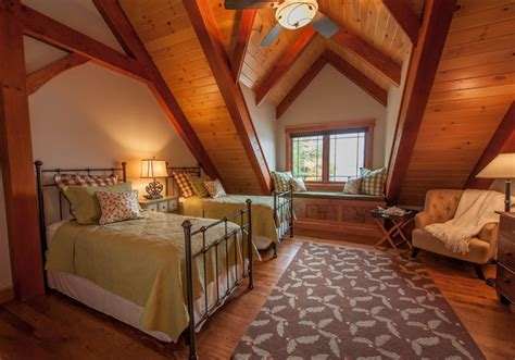 lake house bedroom timberframe lake house guest room rustic bedroom