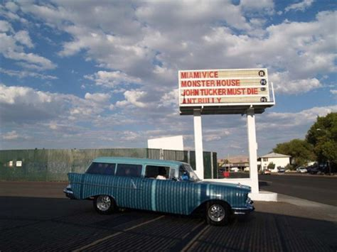The Spark And The Drive el rancho 4 drive in in sparks nv cinema treasures