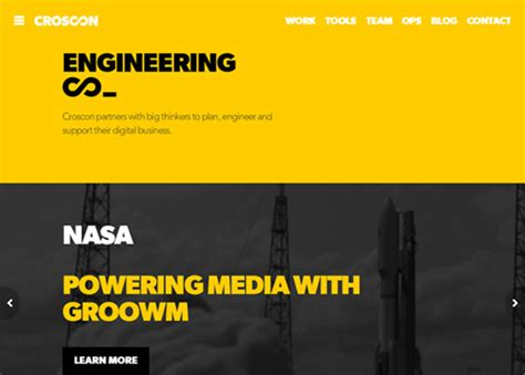 web design inspiration engineering big responsive photo background websites 25 web design