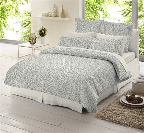 Flannelette Duvet Sets leopard flannelette brushed cotton bedding duvet cover 4
