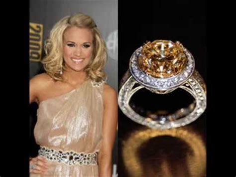 carrie underwood s engagement ring