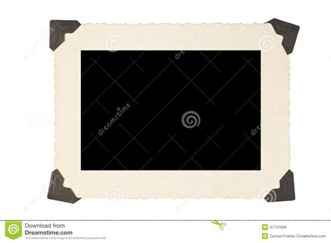 corner photo frames picture frame with corners on white background stock photo