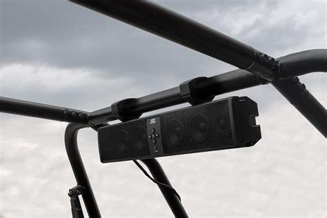 2016 polaris ranger bluetooth soundbar polaris ranger 6 speaker bluetooth sound bar by mtx audio