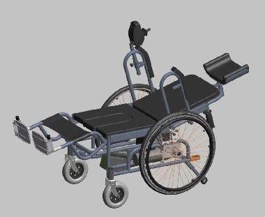 china reclining electric wheelchair with bedpan kfl29