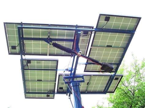 diy solar tracker mount back side