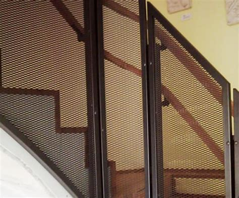 aluminium and pattern works limited partnership expanded mesh balustrades expanded metal company esi