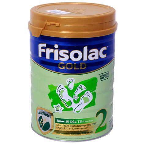 Frisolac Gold 1 900gr sữa frisolac gold số 2 hộp 900g d 224 nh cho b 233 từ 6 12 th 225 ng