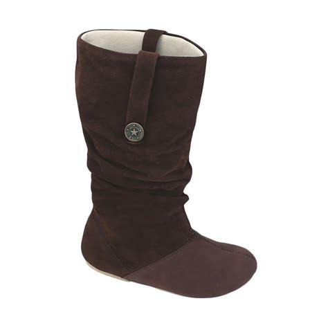 Sepatu Murah Brand Blackmaster Boots Rock Coklat jual syaqinah 187 sepatu boots anak perempuan coklat harga kualitas terjamin