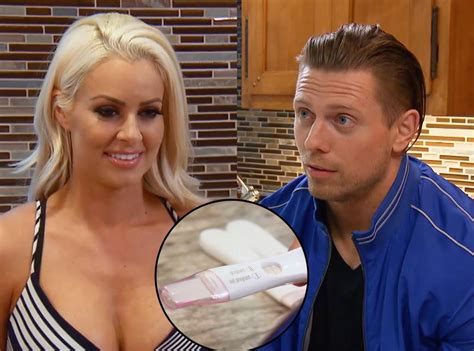 maryse father maryse reveals she s pregnant on total divas and the miz s