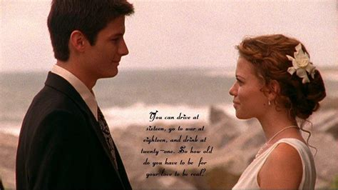 Wedding Quotes One Tree Hill by Naley Wedding One Tree Hill Wallpaper 9915326
