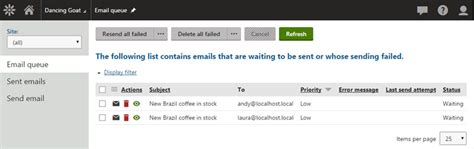 email queue best practices for configuring email marketing