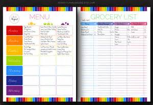 weekly meal planner and shopping list template 7 best images of printable household shopping list pdf anyonita nibbles gluten free recipes free grocery list