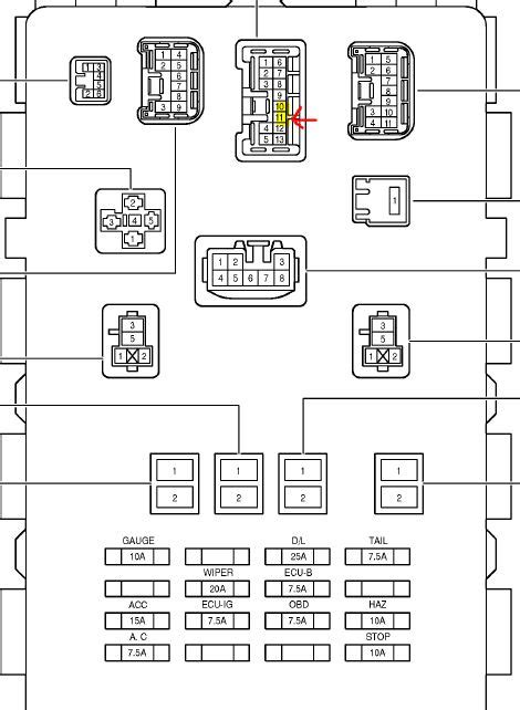 toyota echo engine diagram
