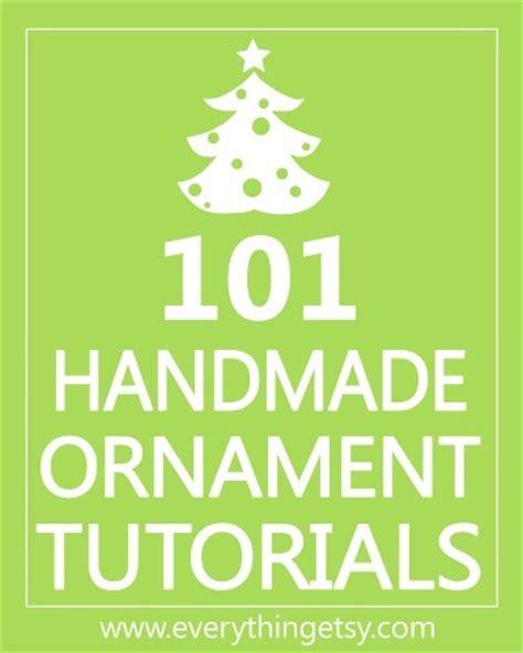 101 handmade christmas ornaments