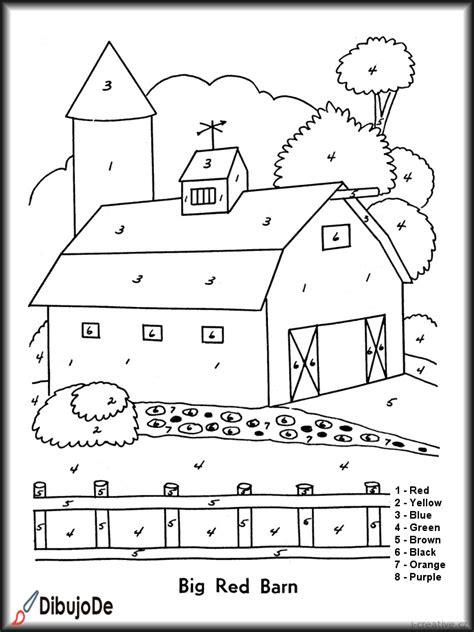 imagenes juegos infantiles para pintar granero granja im 225 genes de juegos para colorear para ni 241 os