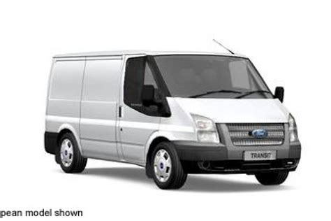 2010 Ford Transit by Ford Transit 2 2 2010 Technical Specifications Interior