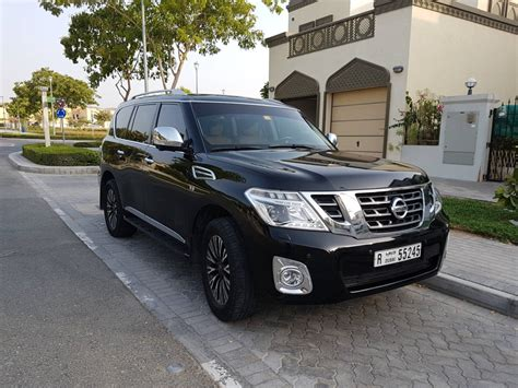 nissan patrol platinum 2016 nissan patrol platinum black edition aed180 000