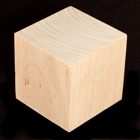 wood blocks 3 solid soft maple block cubes 171l 3 500 casey s