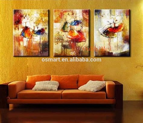 Handmade Paintings On Canvas - handmade picture on canvas modern paintings fabric
