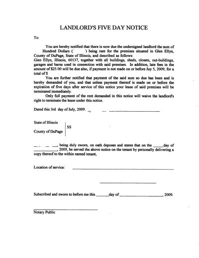 printable eviction letters eviction letter real estate forms