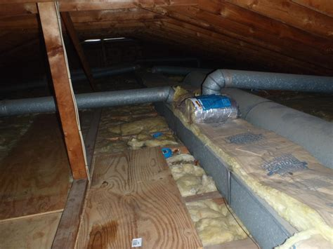 dr energy saver delmarva ductwork before and after photos