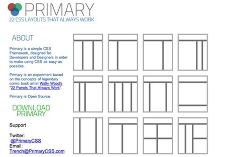 html layout without css 715 awesomely simple and free css layouts design shack